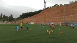 Arranca el curso las escuelas de fútbol del Club Atlético Guadalajara
