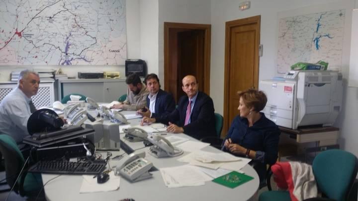 El subdelegado del Gobierno, pendiente del mantenimiento de las estaciones ante una posible emergencia nuclear