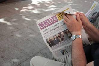 Bajan las temperaturas (unos 5 grados) este sábado en Guadalajara con rachas de viento de hasta 27kms/h