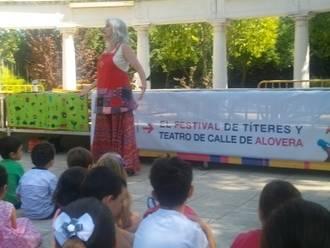 Éxito rotundo en la XII Edición del Festival de Títeres de Alovera