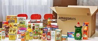 Amazon.es abre su primer supermercado online en España