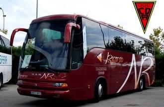 Autocares Ricardo, transporte oficial del CD Azuqueca