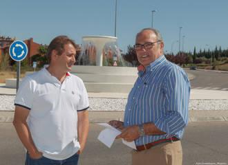 Guadalajara ya presume de dos nuevas fuentes junto a la Fuente de la Niña