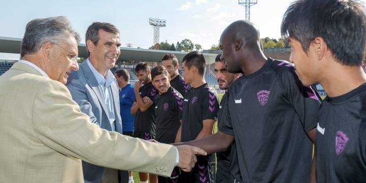 Antonio Román desea suerte al Deportivo Guadalajara en la nueva temporada