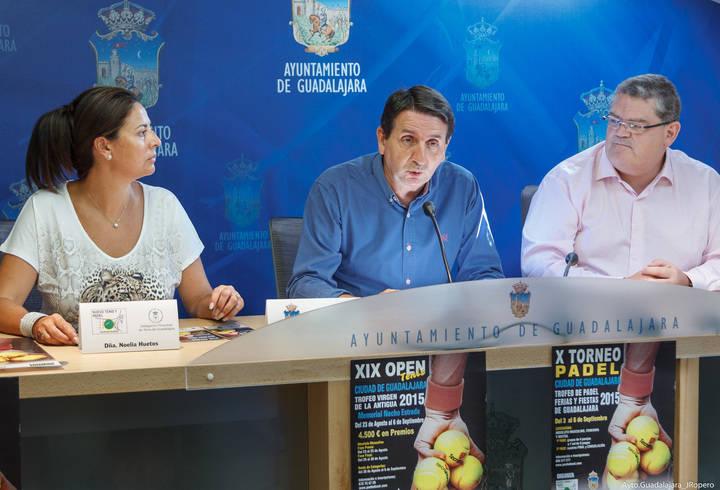 Esta tarde comienza el XIX Open de Tenis Ciudad de Guadalajara