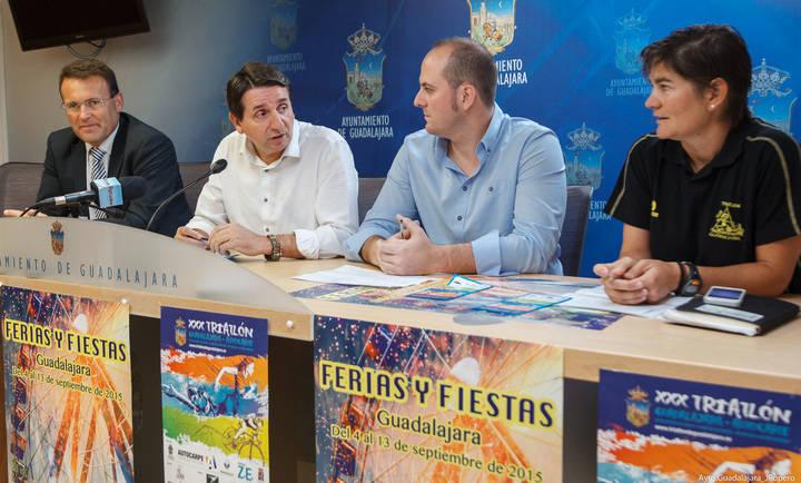 335 deportistas participarán en el XXX Triatlón de Guadalajara
