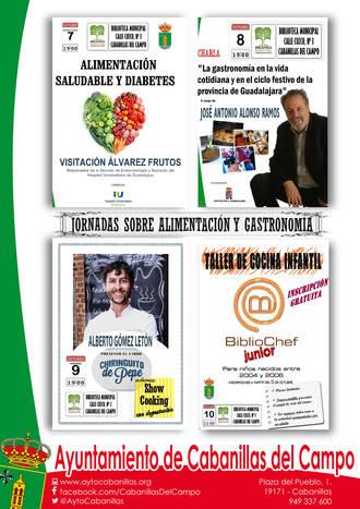 Jornadas sobre alimentación y gastronomía, del 7 al 10 de octubre en Cabanillas del Campo