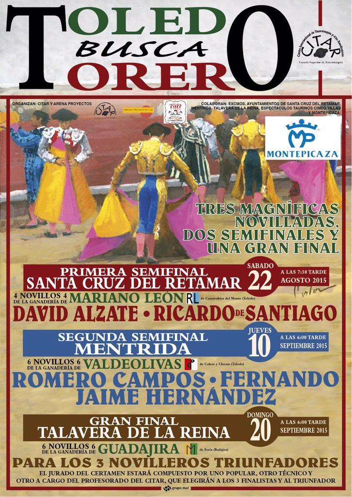 Comienza el Certamen Toledo busca Torero