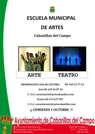 Nace la Escuela Municipal de Artes de Cabanillas