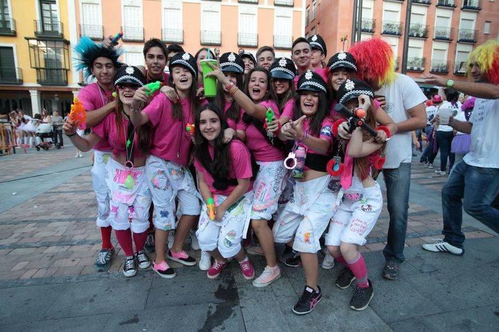 De las nubes a los claros en el jueves de Ferias en Guadalajara