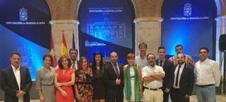 Yolanda Ramírez y los concejales de Ciudadanos Guadalajara acudieron a la recepción ofrecida por el Presidente de la Diputación
