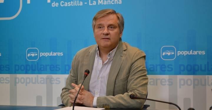 """Cañizares: """"García-Page está entregado a Podemos y ha roto todos los consensos que históricamente había en las Cortes"""""""