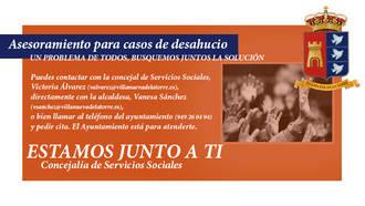 En Villanueva de la Torre pondrán el acento en intentar evitar desahucios