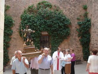Palazuelos honra a su patrono San Roque