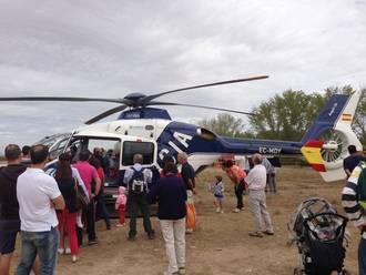 Exhibición de aeromodelos en la Finca de Castillejos