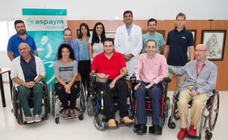 El Hospital Nacional de Parapléjicos acoge una exposición de artistas socios de ASPAYM