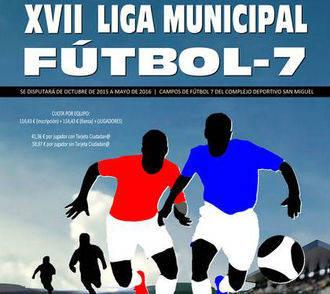 Las inscripciones en la Liga de Fútbol 7 de Azuqueca, del 31 de agosto al 10 de septiembre
