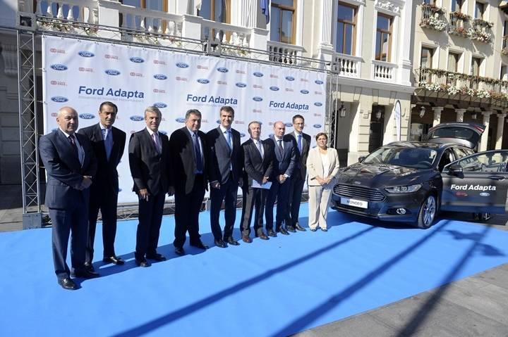 Ford y Fundación ONCE presentan el Programa Ford Adapta en Guadalajara