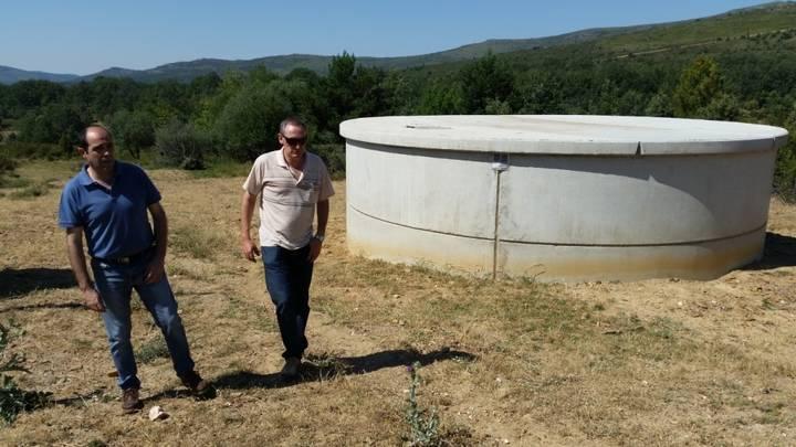 El Ordial ya tiene un nuevo depósito de abastecimiento de agua, gracias a Diputación