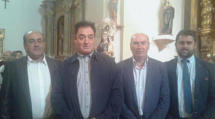 José Manuel Latre asiste a las fiestas de Valdelcubo en honor a la Virgen de la Zarza