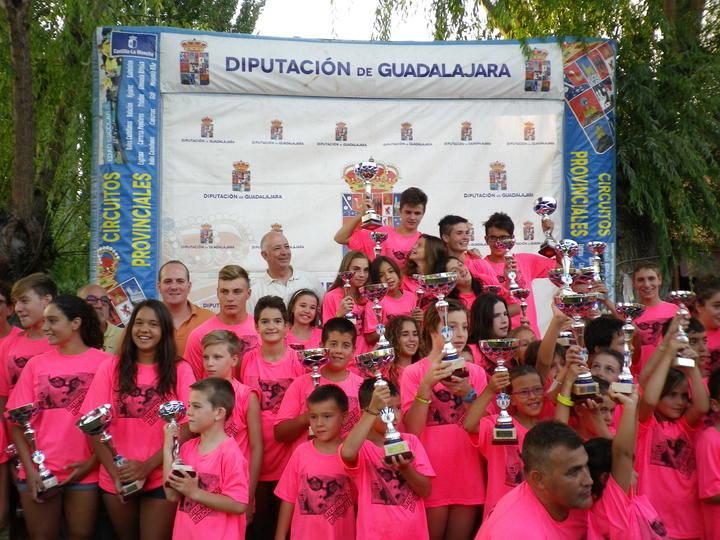 Casi 3.000 nadadores 'se mojaron' este verano en el Interpueblos de Natación de la Diputación