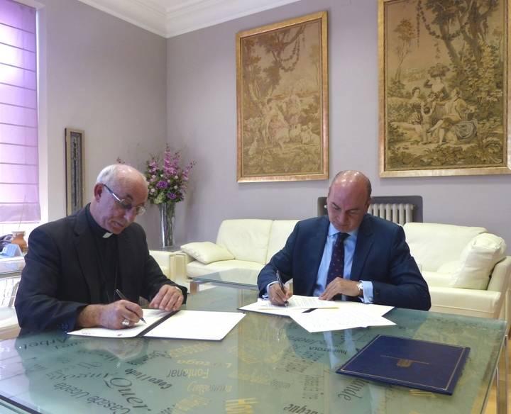 La Diputación colaborará en la restauración del Santuario de la Virgen de la Salud de Barbatona