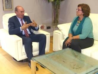 El presidente de Diputación se reúne con los alcaldes de Mandayona, Aranzueque y Sacecorbo