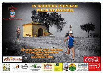 "El domingo 30 de agosto se celebra la IV Carrera Popular ""Villa de Horche"""