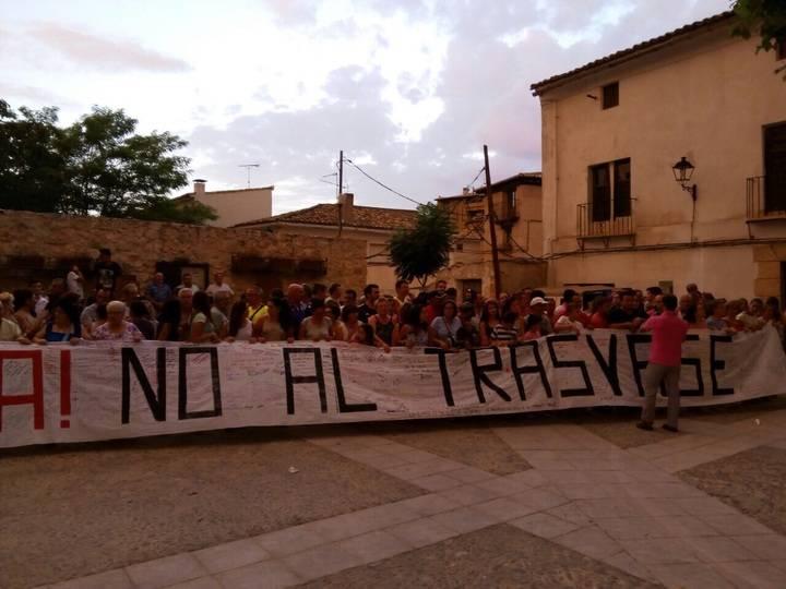 Desde Sacedón hasta Alcocer, nueva manifestación en contra del trasvase