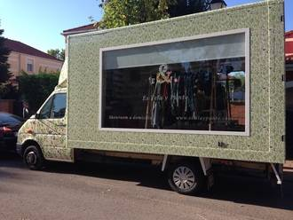 Comienza a rodar el Fashion Truck de 'Es Tela y Punto', un nuevo modelo de negocio en España que nace en Guadalajara