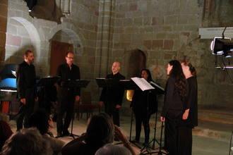 El Ensemble 4/4 da un nuevo 'Salto de fe' en el proyecto de reconstrucción de la Iglesia de Santiago