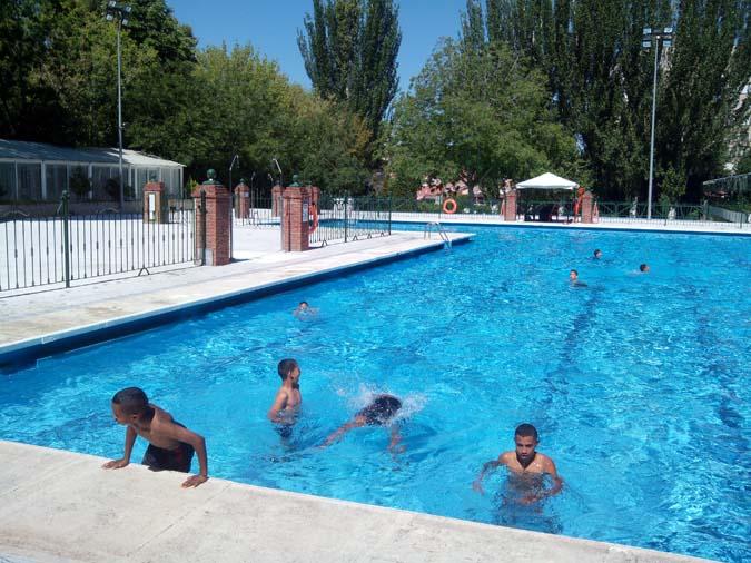 La fiesta del agua de guadalajara tendr que ser un poco for Piscina municipal san roque
