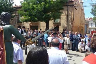 El presidente de la Diputación participa en las fiestas de San Julián en Cantalojas