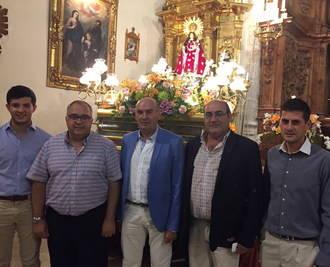 El presidente de la Diputación asiste a las fiestas de Illana, en honor a la Virgen del Socorro