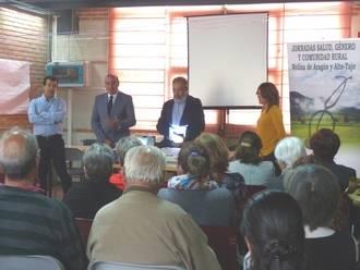El presidente de la Diputación asiste a las I Jornadas sobre Salud, Género y Comunidad Rural en Maranchón