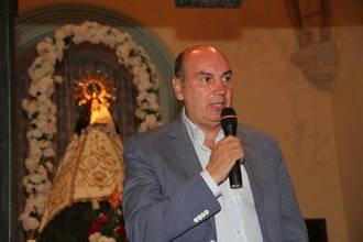 José Manuel Latre pregona las fiestas de Tamajón en honor a la Virgen de los Enebrales
