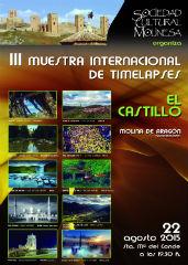 Molina de Aragón celebra este sábado la III Muestra Internacional de Timelapses