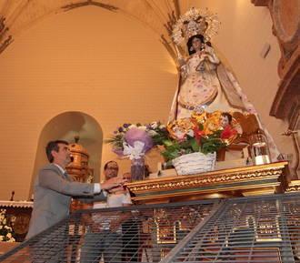 Cielos azules y soleados en Guadalajara el día de la Virgen de la Antigua con el mercurio en los 28ºC