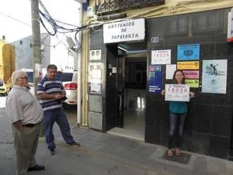 Parte del Segundo Premio de la Lotería Nacional cae en Yunquera de Henares