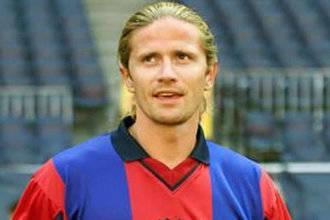 El futbolista Petit: