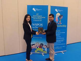 El Hospital Mancha Centro obtiene un premio internacional en el Congreso Mundial de Oftalmología Pediátrica y Estrabismo