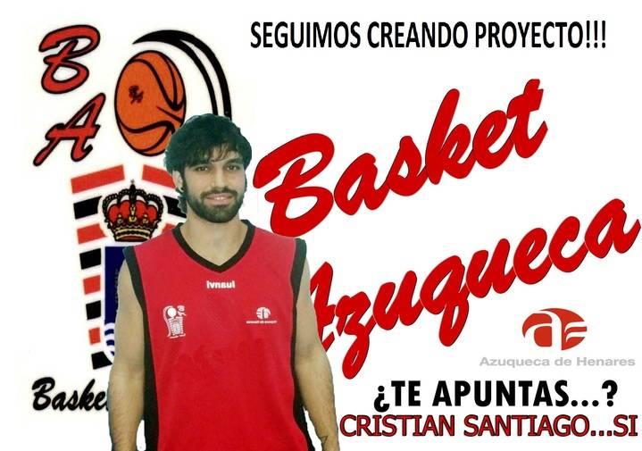 El 'Gran Capitán' Cristian Santiago renueva un año más con el Basket Azuqueca