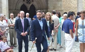 La consejera de Fomento y el delegado de la Junta en las fiestas de Brihuega