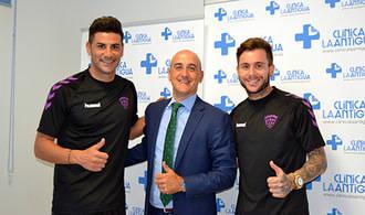 15 jugadores del Dépor pasan revisión médica en la Clínica La Antigua