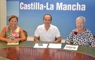 El delegado de la Junta recibe la visita de Cruz Roja Guadalajara