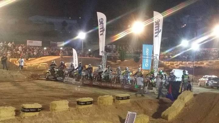 Sacedón acogió la última prueba del Campeonato de España de Supercross