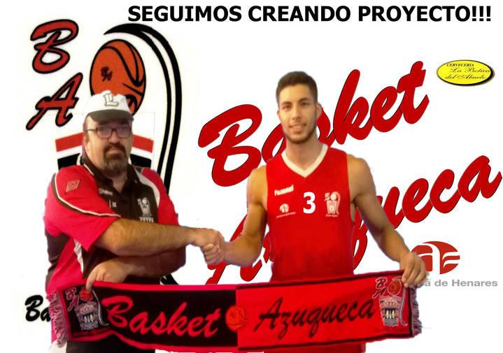Sergi Salamanca se convierte en el quinto fichaje del Basket Azuqueca