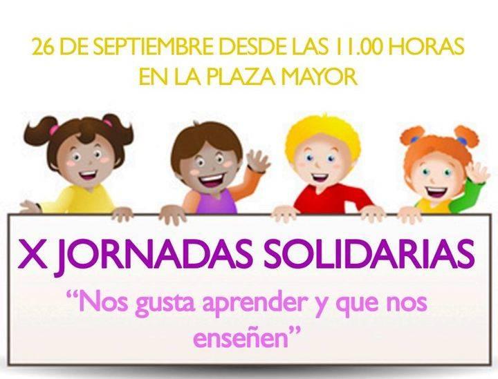 La plaza Mayor de Alovera acogerá sus X Jornadas Solidarias