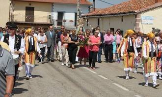El subdelegado del Gobierno en Guadalajara, asiste a la fiesta de la Virgen del Pinar en Galve de Sorbe
