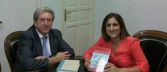 Ciudadanos recibe en Diputación al alcalde de Sacecorbo